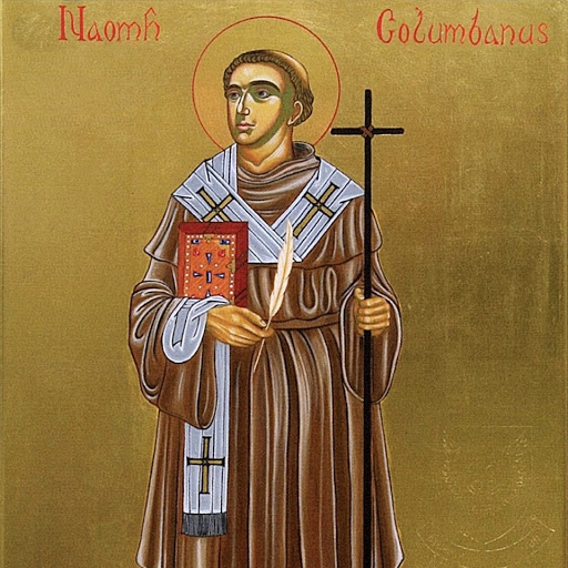 Columbanus - Patron Saint of Poetry